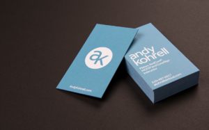 Andy Kohrell Fitness Business Card Design
