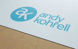 Andy Kohrell Fitness Logo Design by Amata Agency